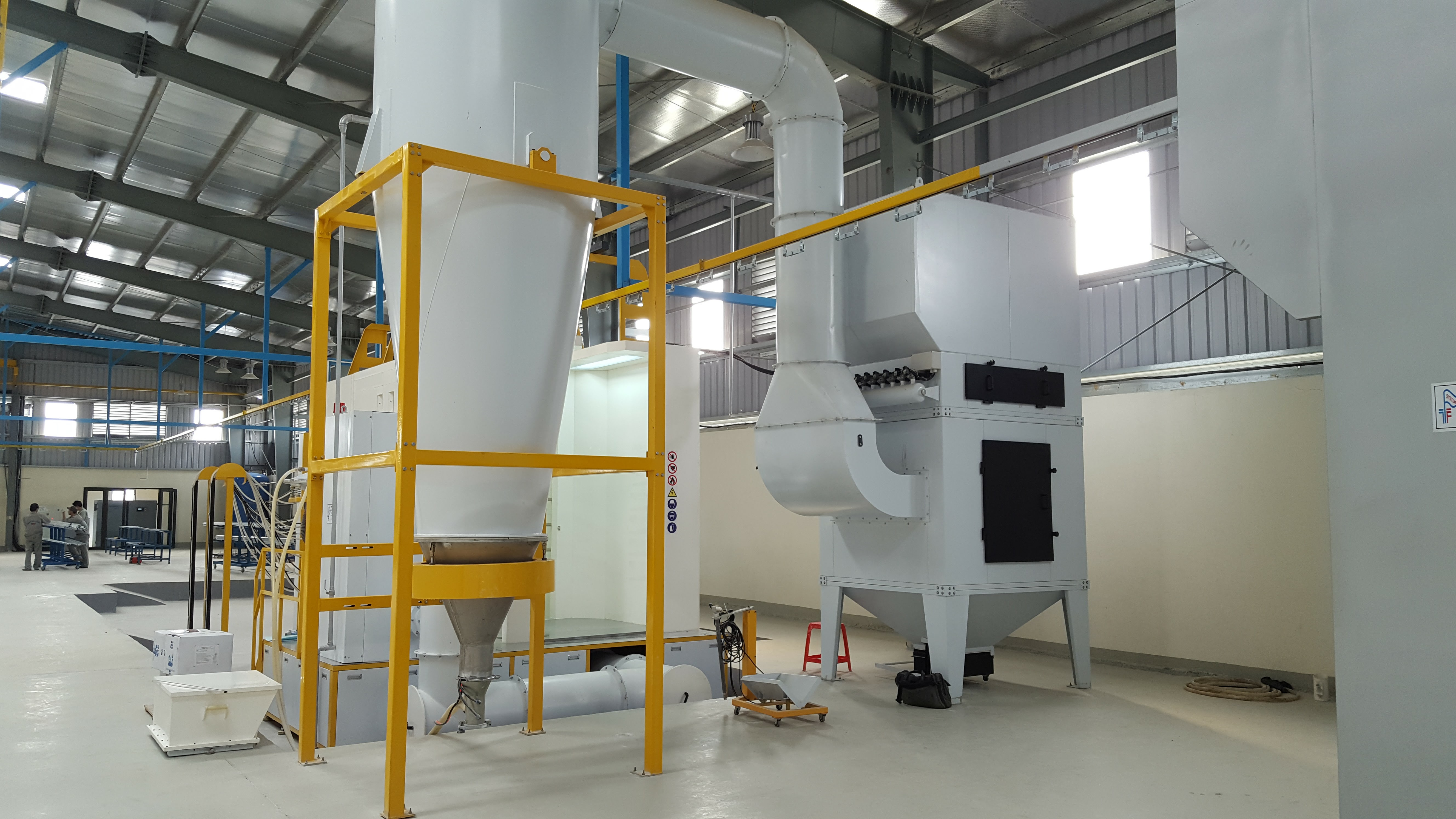 Powder Coating Line