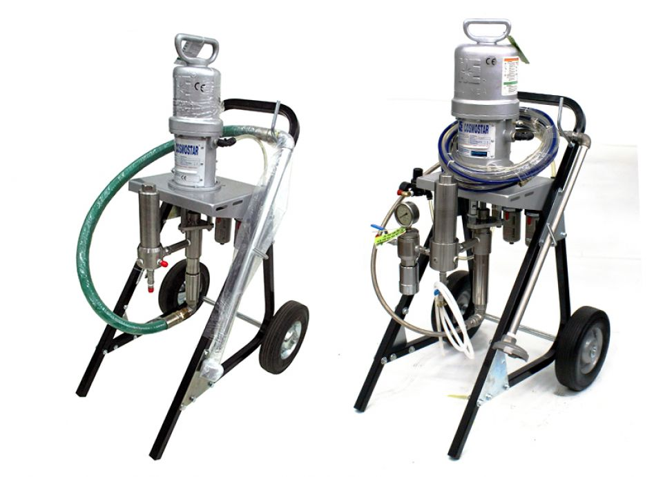 "AA1300-SUS 6"" 30:1 Air Assisted Airless Sprayer"